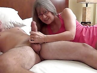 Banging My Son's Roommate blowjob amateur
