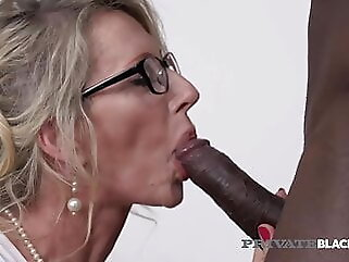 PrivateBlack – The Man Milking Milf Marina Beaulieu Gets Dark Dicked! blowjob blonde