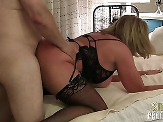 Cheating Slut Wife Fucks Bull, Part 3 blonde anal