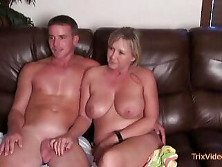 Mommy and Son, EXCLUSIVE Taboo Interview blowjob blonde