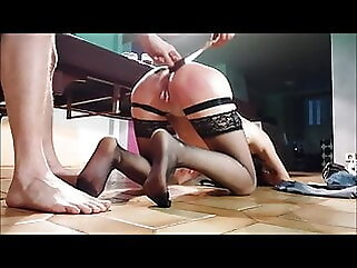BDSM French submissive BY DIDOUA75 anal amateur
