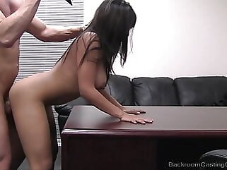 Pussy Plowed Cutie Lena Gets Her Hairy Honeypot Mega Fucked! fingering blowjob