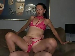 Hotwife cuckolds husband riding new bull cuckold amateur