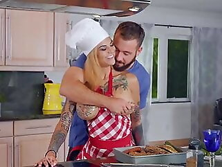 Bonnie Rotten! hardcore blowjob