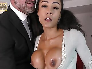 PASCALSSUBSLUTS - Petite Babe Alyssa Divine Rammed By Master sex toy blowjob