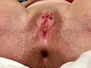 Horny Mom Does Solo Dildo Play With Squirt, Big Gaping Pussy mature sex toy