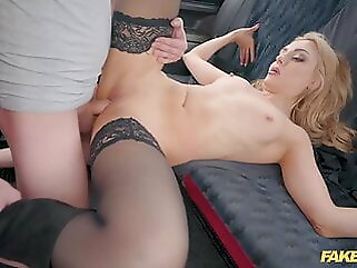 Fake Taxi, Caty Kiss Wants to Pay with Sexy Topless Selfies blowjob babe