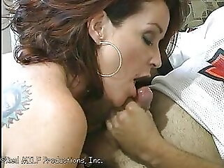Mom Says Don't Cum Inside Me, But Son Forces & Creampies Mom Part 1 milf creampie