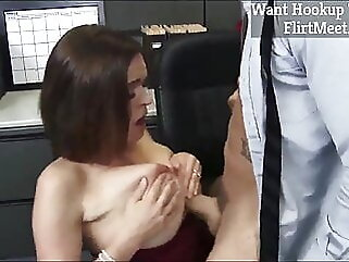 Horny MILF Fucking Young Cock blonde amateur